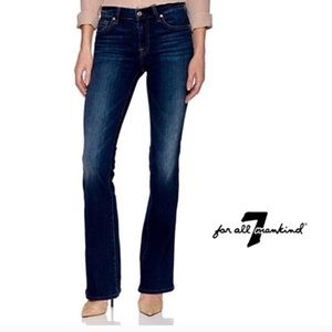 7 For all mankind bootcut jeans crystal pocket